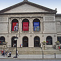Art Institute West Facade by Thomas Woolworth