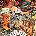 Art Nouveau Biscuit Ad 1897 by Padre Art
