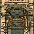 Art Nouveau Doorway In Ljubljana by Greg Matchick