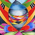 Art Nouveau Shaman by Ingela Christina Rahm