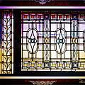 Art-nouveau Stained Glass Window by Ericamaxine Price