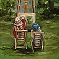 Art Of Teaching Oil Painting by Dyanne Parker