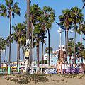 Art Of Venice Beach by Kelly Holm