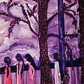 Art Purple Rain by Pikotine Art