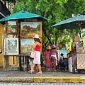 Art Show In San Juan by Susan Savad