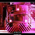 Art Work 123 Locomotive by Alexander Drum