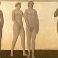 Artemis by Vilhelm Hammershoi