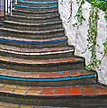 Artful Stair Steps by Ann Horn