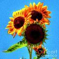 Artful Sunflower by Patrick Witz