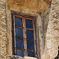 Artful Window At Mission San Jose In San Antonio Missions National Historical Park by Shawn O'Brien