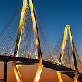 Arthur Ravenel At Sunset by Jerry Fornarotto