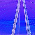 Arthur Ravenel Jr Bridge Iv by DigiArt Diaries by Vicky B Fuller