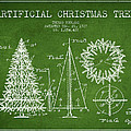 Artifical Christmas Tree Patent from 1927 - Green by Aged Pixel
