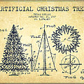 Artifical Christmas Tree Patent from 1927 - Vintage by Aged Pixel