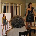 Artist At Work by Ylli Haruni