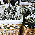 Artist Brushes by Gillian Dernie