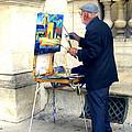 Artist In Paris by Sanjeewa Marasinghe