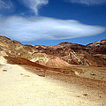 Artist Pallet Death Valley by Sheryl Chapman Photography