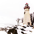 Artistic Marblehead Lighthouse by Jack R Perry