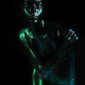 Artistic Nude  Green Skin  by Dan Comaniciu
