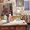 Artist's Studio by Emily Gibson