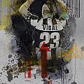 Arturo Vidal - B by Corporate Art Task Force