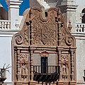 Artwork At San Xavier Del Bac by Ed Gleichman