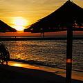 Aruba Sunset by Caroline Stella