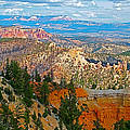 As Far As The Eye Can See From Farview Point In Bryce Canyon-utah   by Ruth Hager