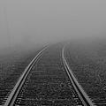 As I Walk The Rails by Rachel Cohen
