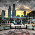 As Syakirin Mosque And Petronas Tower by Jay Fuerzas