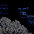 As The Heavens by Kim Blaylock