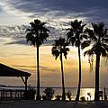 As The Sun Sets South Padre Island Texas by TN Fairey