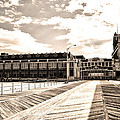 Asbury Park Boardwalk And Convention Center by Bill Cannon