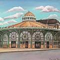 Asbury Park Carousel House by Melinda Saminski