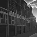 Asbury Park Nj Casino Black And White by Terry DeLuco