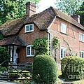 Ashers Farmhouse Five Bells Lane Nether Wallop by Terri Waters