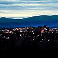 Asheville Skyline by Karen Wiles