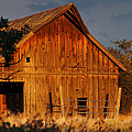 Ashland Barn In Evening Light by Mick Anderson
