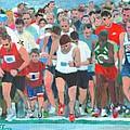Ashland Half Marathon by Cliff Wilson
