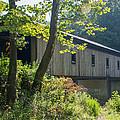 Ashtabula Collection - Olin's Covered Bridge 7k01977 by Guy Whiteley