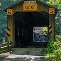 Ashtabula Collection - Olin's Covered Bridge 7k01978 by Guy Whiteley