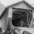 Ashtabula Collection - Riverdale Road Covered Bridge  7k02082b by Guy Whiteley