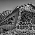 Ashtabula Collection - State Road Covered Bridge  7k01967b by Guy Whiteley