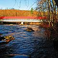 Ashuelot Covered Bridge Scene by MTBobbins Photography