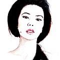 Asian Beauty II by Jim Fitzpatrick