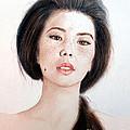 Asian Beauty by Jim Fitzpatrick