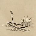 Asian Bird N Boat by Florene Welebny
