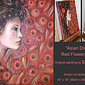 Asian Dream In Red Flowers 010809 Comp by Selena Boron