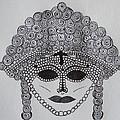Dark Ancient Eyes  by Donna Wilson